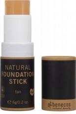 Foundation stick bio, Tan (inchis) - Benecos
