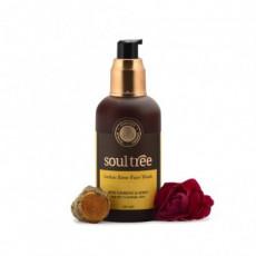Gel curatare ten cu trandafir, turmeric, miere, 120ml - Soultree
