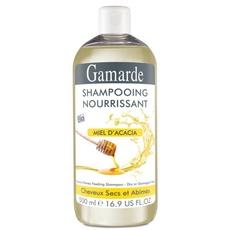 Sampon natural hranitor pentru par uscat cu miere si unt shea - Gamarde