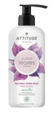 Sapun lichid cu extract din frunze de ceai alb Superleaves, 473 ml - ATTITUDE