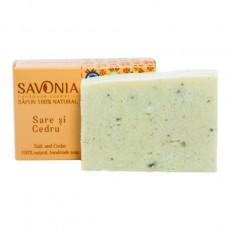 Sapun Natural Sare si Cedru - Savonia