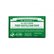 Sapun solid de Castilia, aroma Migdale 140g - Dr Bronner
