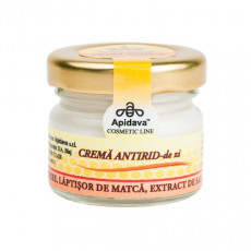 Crema naturala antirid zi cu laptisor de matca, miere, extract de salcam - Apidava