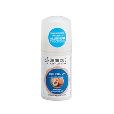 Deodorant natural roll on caise si flori soc - Benecos