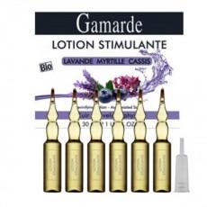 Lotiune stimulanta pentru par Gamarde - cutie cu 6 fiole de 5 ml