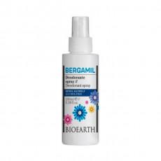 Deodorant spray cu piatra de alaun Bergamil, 100ml - Bioearth