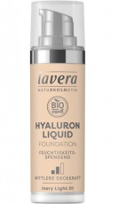Fond de ten bio Hyaluron Liquid Ivory Light 01, 30ml - LAVERA