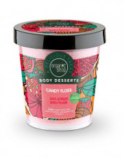 Jeleu-spuma de baie antistress Candy Floss, 450 ml - Organic Shop Body Desserts