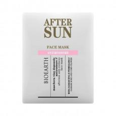 Masca servetel aftersun anti roseata - Bioearth Sun