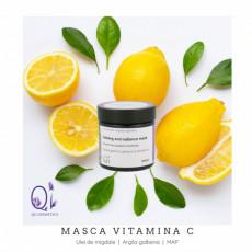 Masca Vitamina C Luminozitate - Qi Cosmetics