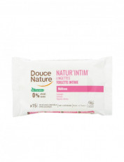 Servetele umede intime 15 Buc - Douce Nature