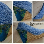Crochet shoes, Painted crochet shoes, Fashionable Women Shoes, Women Shoes, Spring-Summer Outdoor Shoes