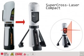 Poze Nivela laser-cruce SuperCross- Laser Compact - Laserliner