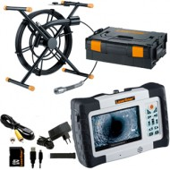 Set inspectie video tevi/scurgeri 30m - PipeControl-LevelFlex-Camera 30m