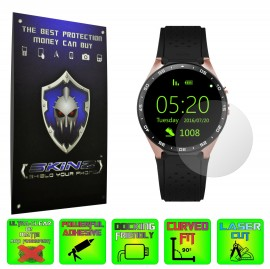 Smartwatch Lemfo KW88 - Folie SKINZ Protectie Ecran Ultra Clear HD (Set 2 Folii)