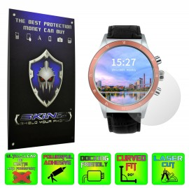 Smartwatch Lemfo Y3 - Folie SKINZ Protectie Ecran Ultra Clear HD (Set 2 Folii)