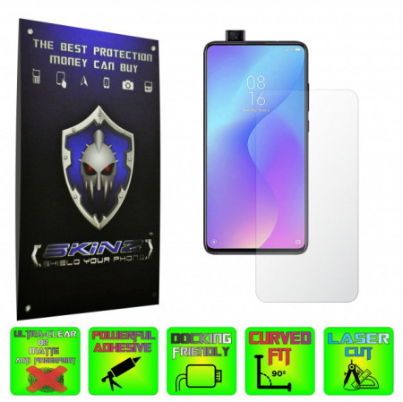 Huawei P Smart Z - INVISIBLE SKINZ HD, Folie Protectie Ecran Ultra-Clear sau Mata Antiamprenta, Full Display Cover,Full Glue