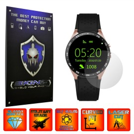 Smartwatch Lemfo KW88 - Folie INVISIBLE SKINZ UHD, Protectie de Ecran Ultra Clear AutoRegeneranta, Full Glue ( Set 2 Folii)