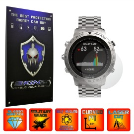 Garmin Fenix Chronos - Folie INVISIBLE SKINZ UHD, Protectie de Ecran Ultra Clear AutoRegeneranta, Full Glue ( Set 2 Folii)