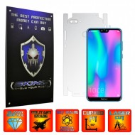 Huawei Honor 9N (9i) 2018 - INVISIBLE SKINZ UHD AutoRegeneranta 360° CUT, Folie Protectie Ultra-Clear pentru Carcasa, Full Case Cover (Carcasa Spate si Laterale),Full Glue