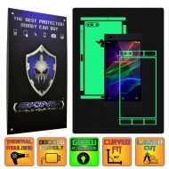 Razer Phone - Folie Fosforescenta GLOW SKINZ, Full Body Skin
