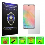Huawei Mate 20 X (5G) - INVISIBLE SKINZ HD, Folie Protectie Ecran Ultra-Clear sau Mata Antiamprenta, Full Display Cover,Full Glue