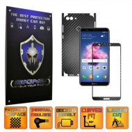 Huawei P Smart - Folie Full Body AutoAdeziva Carbon SKINZ , Textura 3D