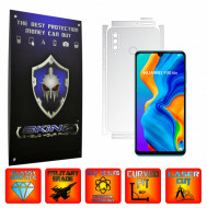 Huawei P30 Lite New Edition - INVISIBLE SKINZ UHD AutoRegeneranta - SPLIT CUT, Folie Protectie Ultra-Clear pentru Carcasa, Full Case Cover (Carcasa Spate si Laterale),Full Glue