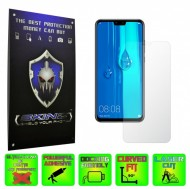 Huawei Y9 (2019) - INVISIBLE SKINZ HD, Folie Protectie Ecran Ultra-Clear sau Mata Antiamprenta, Full Display Cover,Full Glue