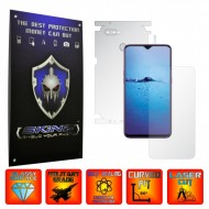 Oppo F9 (F9 Pro) - INVISIBLE SKINZ UHD AutoRegeneranta 360° CUT, Folie Protectie Ultra-Clear Full Body Cover (Ecran,Carcasa Spate,Laterale),Full Glue