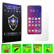 Oppo Find X - INVISIBLE SKINZ HD, Folie Protectie Ecran Ultra-Clear sau Mata Antiamprenta, Full Display Cover,Full Glue