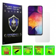 Samsung Galaxy A50 - INVISIBLE SKINZ HD, Folie Protectie Ecran Ultra-Clear sau Mata Antiamprenta, Full Display Cover,Full Glue
