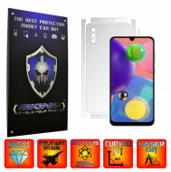Samsung Galaxy A70s - INVISIBLE SKINZ UHD AutoRegeneranta - SPLIT CUT, Folie Protectie Ultra-Clear pentru Carcasa, Full Case Cover (Carcasa Spate si Laterale),Full Glue