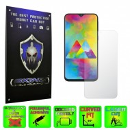 Samsung Galaxy M20 - INVISIBLE SKINZ HD, Folie Protectie Ecran Ultra-Clear sau Mata Antiamprenta, Full Display Cover,Full Glue