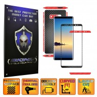 Samsung Galaxy Note 8 - Folie Full Body AutoAdeziva Carbon SKINZ , Textura 3D