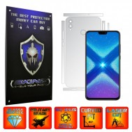 Huawei Honor 8X - INVISIBLE SKINZ UHD AutoRegeneranta - SPLIT CUT, Folie Protectie Ultra-Clear pentru Carcasa, Full Case Cover (Carcasa Spate si Laterale),Full Glue