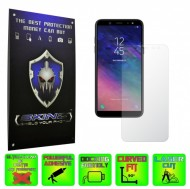 Samsung Galaxy A6 (2018) - INVISIBLE SKINZ HD, Folie Protectie Ecran Ultra-Clear sau Mata Antiamprenta, Full Display Cover,Full Glue