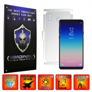 Samsung Galaxy A8 Star - INVISIBLE SKINZ UHD AutoRegeneranta - SPLIT CUT, Folie Protectie Ultra-Clear pentru Carcasa, Full Case Cover (Carcasa Spate si Laterale),Full Glue