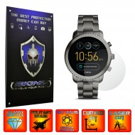 Fossil Q Explorist - Folie INVISIBLE SKINZ UHD, Protectie de Ecran Ultra Clear AutoRegeneranta, Full Glue ( Set 2 Folii)