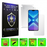 Huawei Honor 8X - INVISIBLE SKINZ HD - SPLIT CUT, Folie Protectie Ultra-Clear sau Mata Antiamprenta, Full Body Cover (Ecran,Carcasa Spate,Laterale),Full Glue