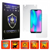 Huawei Honor 9N (9i) 2018 - INVISIBLE SKINZ UHD AutoRegeneranta 360° CUT, Folie Protectie Ultra-Clear Full Body Cover (Ecran,Carcasa Spate,Laterale),Full Glue