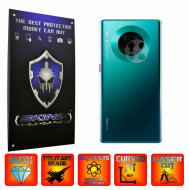 Huawei Mate 30 Pro - Set 2x Folie Protectie Camera INVISIBLE SKINZ UHD AutoRegeneranta, Ultra-Clear, Full Glue