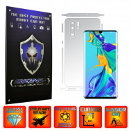 Huawei P30 Pro New Edition - INVISIBLE SKINZ UHD AutoRegeneranta - SPLIT CUT, Folie Protectie Ultra-Clear pentru Carcasa, Full Case Cover (Carcasa Spate si Laterale),Full Glue