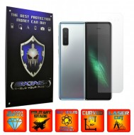 Samsung Galaxy Fold - INVISIBLE SKINZ UHD AutoRegeneranta, Folie Protectie Ecran Ultra-Clear, Full Display Cover,Full Glue