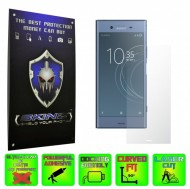 Sony Xperia XZ1 - INVISIBLE SKINZ HD, Folie Protectie Ecran Ultra-Clear sau Mata Antiamprenta, Full Display Cover,Full Glue