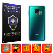 Xiaomi Redmi Note 9 Pro,(Max) - Set 2x Folie Protectie Camera INVISIBLE SKINZ UHD AutoRegeneranta, Ultra-Clear, Full Glue