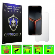 Asus ROG Phone 2 II - Folie Protectie Ecran Ultra-Clear sau Mata Antiamprenta, Full Display sau Case Friendly INVISIBLE SKINZ HD