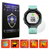 Garmin Forerunner 230, 235 - Folie INVISIBLE SKINZ UHD, Protectie de Ecran Ultra Clear AutoRegeneranta, Full Glue ( Set 2 Folii)