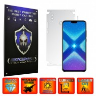 Huawei Honor 8X - INVISIBLE SKINZ UHD AutoRegeneranta 360° CUT, Folie Protectie Ultra-Clear pentru Carcasa, Full Case Cover (Carcasa Spate si Laterale),Full Glue