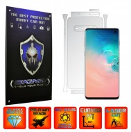 Samsung Galaxy S10 - INVISIBLE SKINZ UHD AutoRegeneranta - SPLIT CUT, Folie Protectie Ultra-Clear pentru Carcasa, Full Case Cover (Carcasa Spate si Laterale),Full Glue